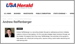 Andrew Reiffenberger USA Herald Byline